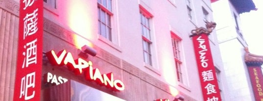 Vapiano is one of DC restaurants.