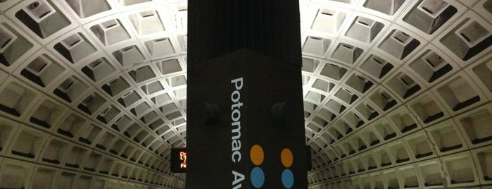 Potomac Avenue Metro Station is one of DC Metro Insider Tips.