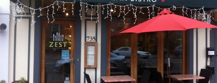 Zest American Bistro is one of Guide to Washington's best spots.