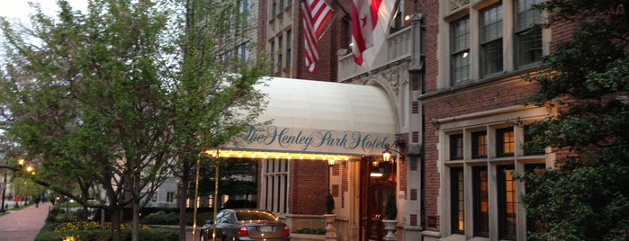 The Henley Park Hotel is one of D.C. Bars.