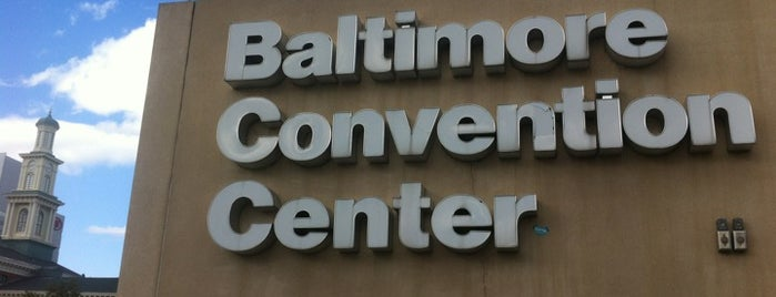 Baltimore Convention Center is one of Centros sociais ..