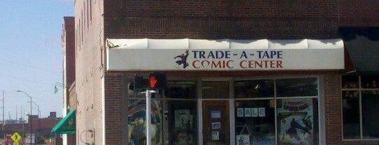 Trade A Tape Comic Book Center is one of สถานที่ที่ James ถูกใจ.