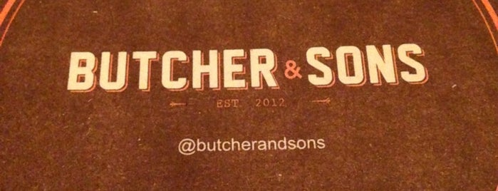 Butcher & Sons is one of Eli mi amor.