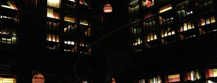 The Library at The NoMad is one of With ash.