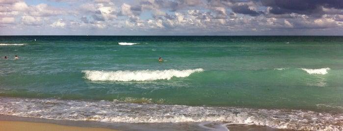 79th Street Beach is one of Miami Beach.