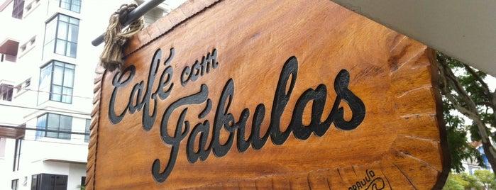 Café Com Fábulas is one of CWB - Cafés.