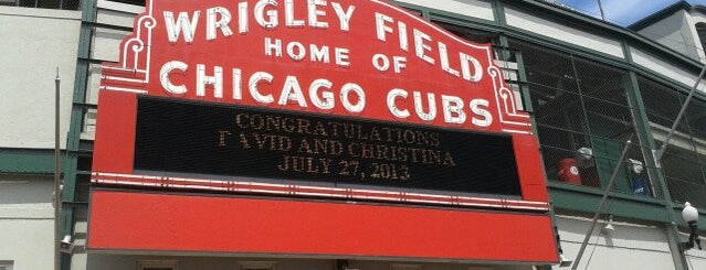Wrigley Field is one of #BabysFirstTime: Chicago Edition.