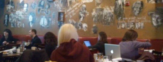 Busboys and Poets is one of Kwan goes to Washington.