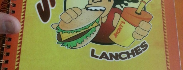 Jhony's Lanches is one of Locais curtidos por Tadeu.