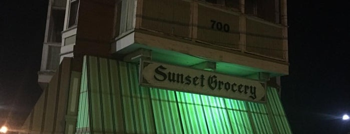 Sunset Grocery is one of El Paso.