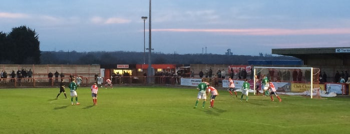 Witton Albion FC is one of Non-League Football Grounds (Northern).