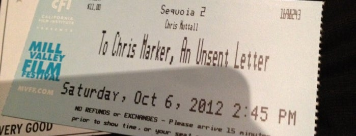 CineArts at Sequoia is one of Marin County's Best.