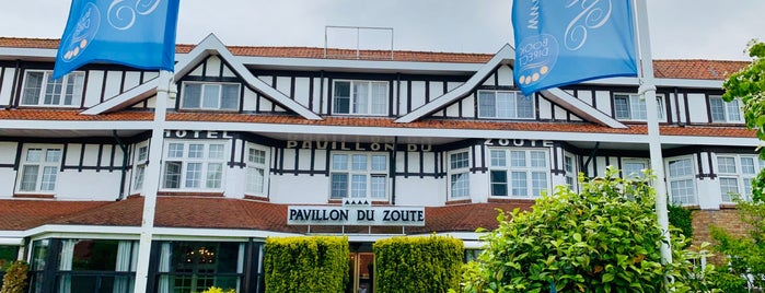 Hotel Pavillon Du Zoute is one of Tempat yang Disukai anthony.