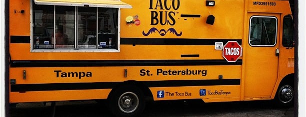 Taco Bus is one of Best of St. Pete's.