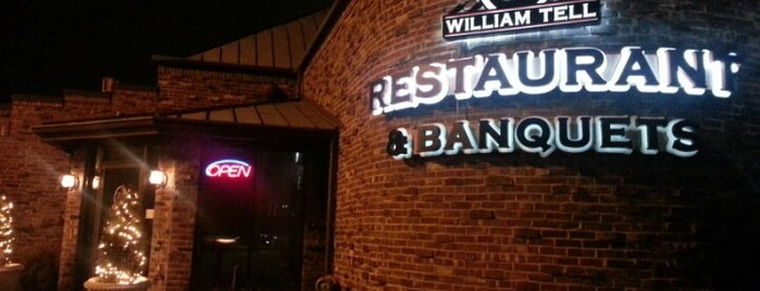 William Tell Restaurant & Banquets is one of Must go there and smash.