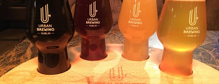 Urban Brewing is one of Zia 님이 좋아한 장소.