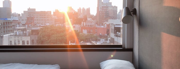 CitizenM Bowery is one of Bucket List Bars.