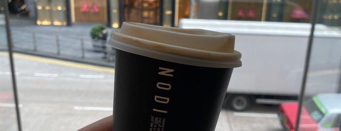 NODI is one of HK Coffee shops.