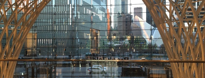 Brookfield Place (BFPL) is one of The New Yorkers: Tribeca-Battery Park City.