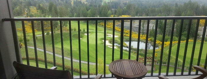 The Westin Bear Mountain Golf Resort & Spa, Victoria is one of Tempat yang Disimpan Queen.