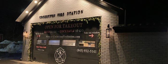 Cochecton Fire Station is one of Hudson Valley.