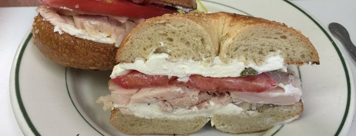 Barney Greengrass is one of NYC's Best Bagel Shops.