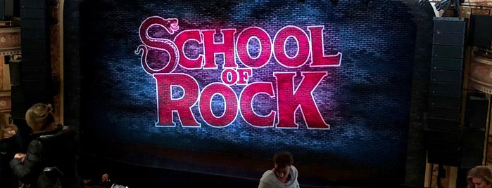 School Of Rock is one of Lugares favoritos de Evan.
