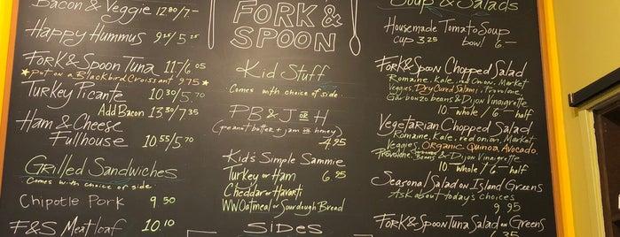 Fork & Spoon is one of Bainbridge Island.