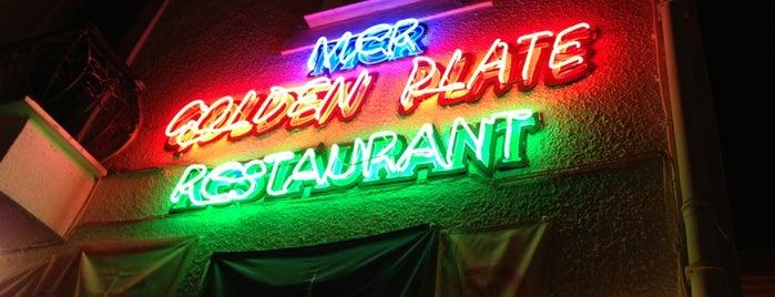Golden Plate Restaurant is one of Lieux sauvegardés par Ugur.