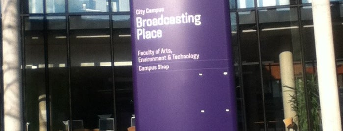 Broadcasting Place is one of Leeds Beckett University Buildings.