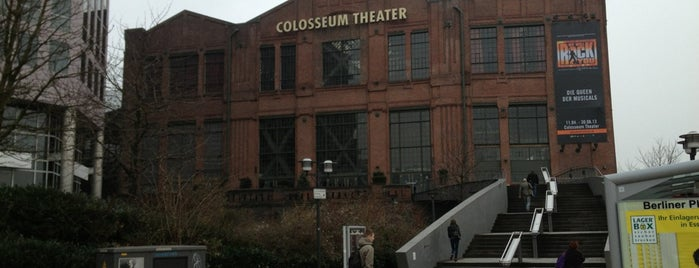 Colosseum Theater is one of Gespeicherte Orte von Mattes.