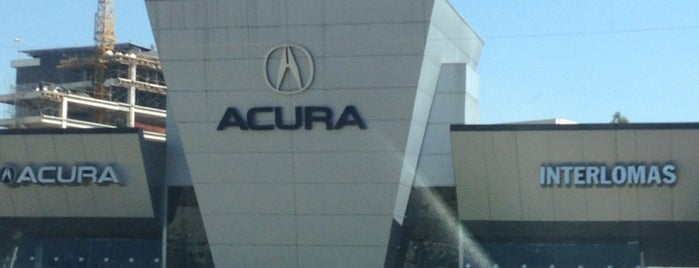 Acura interlomas is one of Lugares favoritos de Luis.