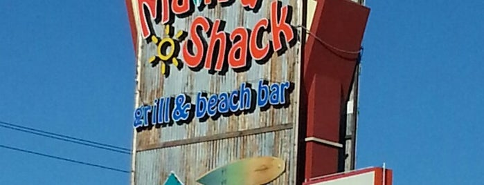 Malibu Shack Grill & Beach Bar is one of Miles List.