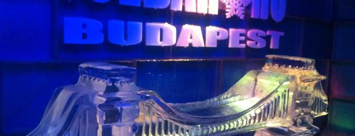 Icebar Budapest is one of Valeriya 님이 저장한 장소.