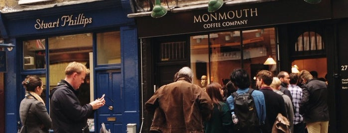 Monmouth Coffee Company is one of Quintessential London.
