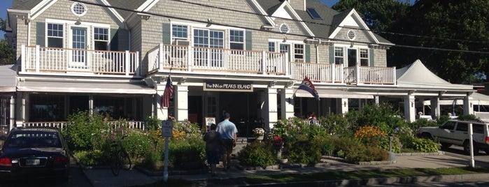 The Inn on Peaks Island is one of Maine breweries.