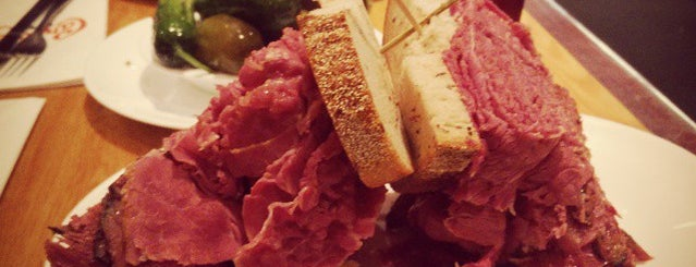 Carnegie Deli is one of 5 Best: New York Delis.