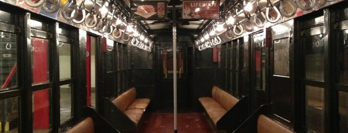 New York Transit Museum is one of New York, things to do.