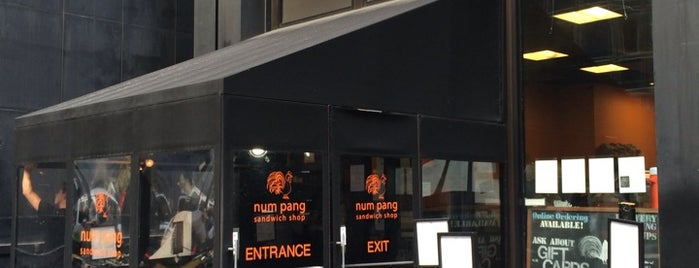 Num Pang Sandwich Shop is one of Great Food in Midtown NYC.