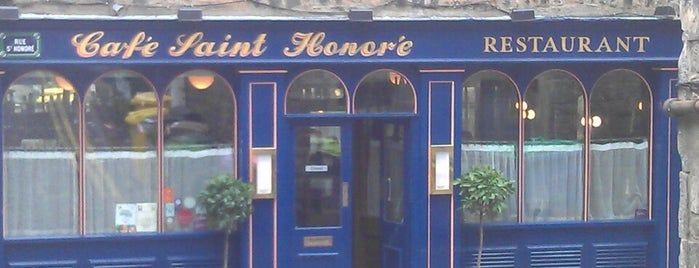 Cafe St Honoré is one of Scotland.