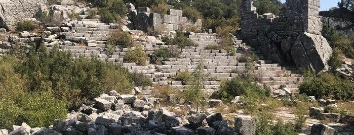 adada antik kenti is one of ✖ Türkiye - Isparta.