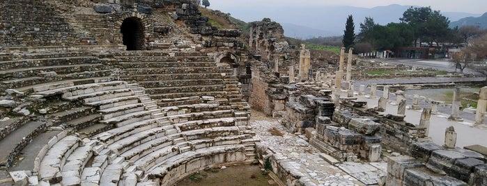 Odeon is one of Kuşadası.