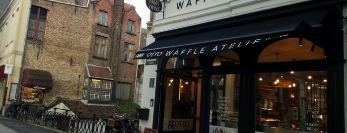 OTTO Waffle Atelier is one of Brussels.