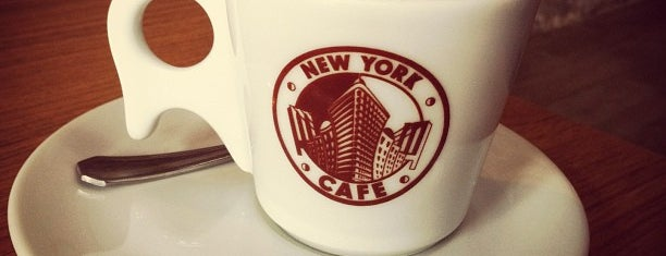 New York Cafe is one of CWB - Cafés.