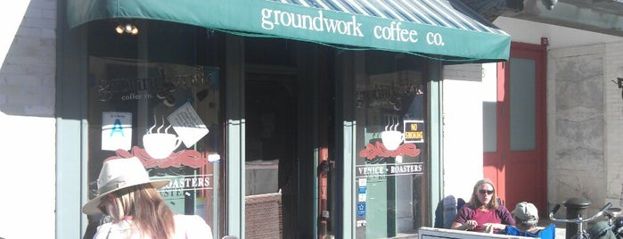 Groundwork Coffee is one of Venice.