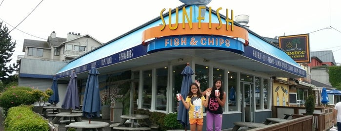 Sunfish Seafood is one of Mozzer favorites.