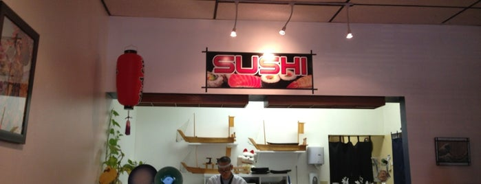 Kiko Sushi is one of Tempat yang Disukai Wayward.