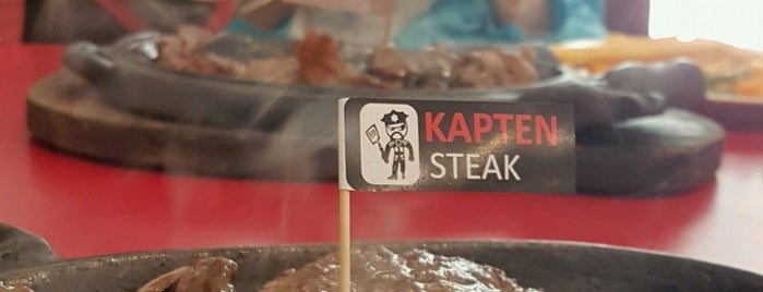 Kapten steak is one of Dinner @ Jakarta.