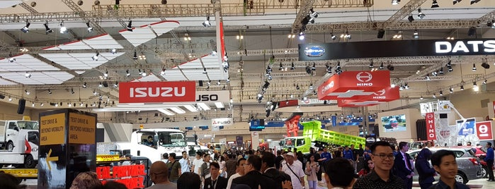 Gaikindo Indonesia International Auto Show (GIIAS) is one of Lieux qui ont plu à Anky.
