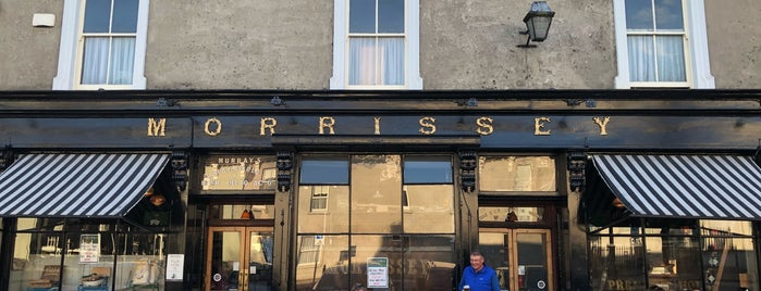 Morrisey's is one of In Dublin's Fair City (& Beyond).